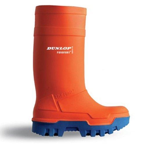 Stivali da lavoro Dunlop Purofort Thermo + piena sicurezza termici arancione / blu - 5 - C662343