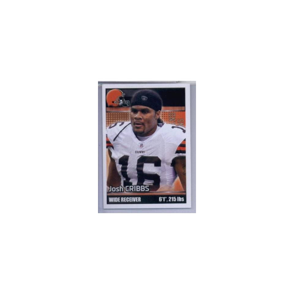 2012 Panini NFL Football Sticker #90 Josh Cribbs at 's Sports Collectibles Store