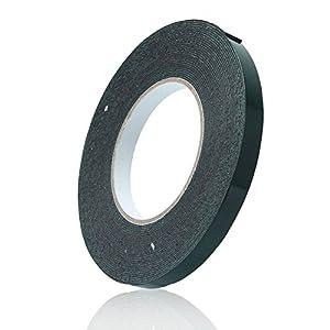 1Pcs 10Mx12mm Permanent Double Sided Self Adhesive Foam Body Tape