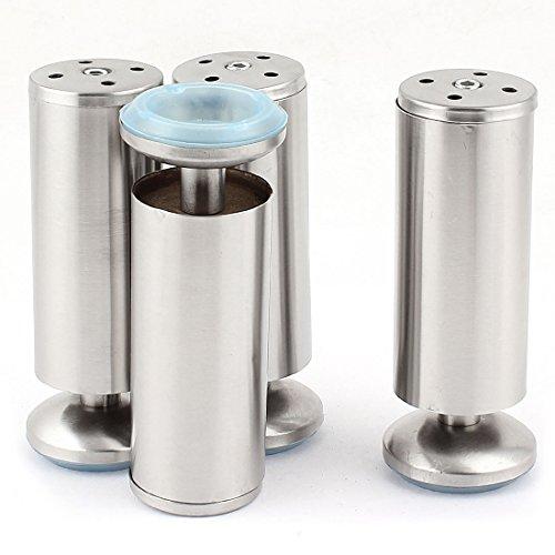 Küche Möbel Zylinder verstellbare Schrankfüße Sofa Betten Füße 4Stücke de