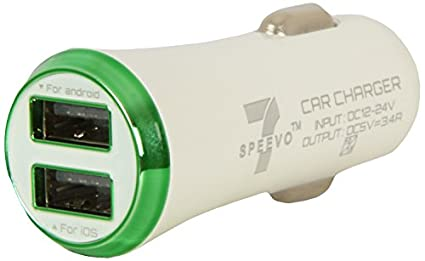 Speevo 7 2.1A Dual USB Car Charger
