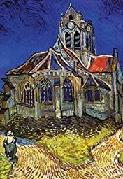 30 x 20 Stretched Canvas Poster Church at Auvers