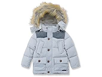 Amazon.com: Toddler Winter Coats for Boys Down Grey Winter