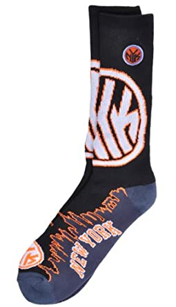 For Bare Feet NBA New York Knicks Sports City Crew Foot Socks by For Bare Feet