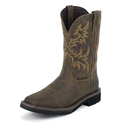 ff47e48689f Justin Boots WKL4689 Ladies  Rugged Tan Boots - mallorystrongjohnsie