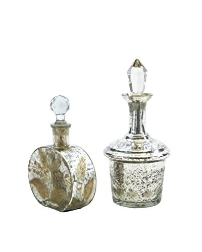 Set of 2 Vintage Perfume Bottles