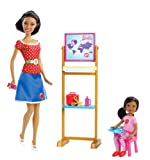 Barbie I Will Be Teacher African-American Doll Playset