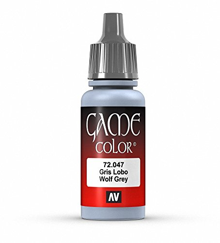 Vallejo Game Color Wolf Grey Paint, 17ml
