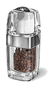 Cole and Mason H57477P Seville Brushed Chrome 5-1 2-Inch Combination Salt Shaker and... by Cole & Mason