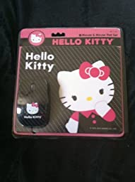 Hello Kitty Mouse and Mouse Pad Set
