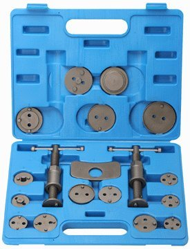 18 PIECE DISC BRAKE PAD & CALIPER SERVICE TOOL KIT