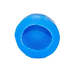 First Impression Molds B260 Knit Bow Baby Hat Silicone Cake Decorating Mold, Large, Blue