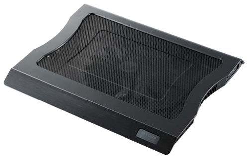 ELECOM 冷え冷えクーラー 大型静音ファン 15.4~17インチW対応 ブラック SX-CL10LBK