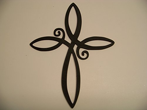 Plastic Infinity Cross Wall Decor Plastic
