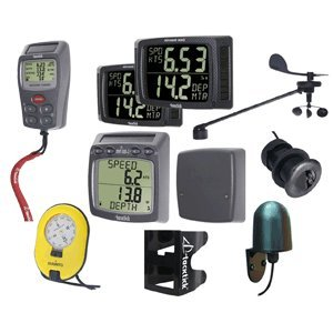 Tacktick 30' Instrument System Complete w/Dual Maxi Displays/Remote Speed/Depth Wireless/Multi NMEA Interface/Fluxgate