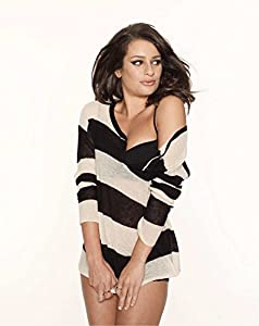 Lea Michele Sexy Sweater and Panties Pose 8x10 Photo at Amazon's
