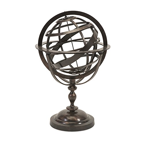 IMAX 89439 Alexander Metal Globe