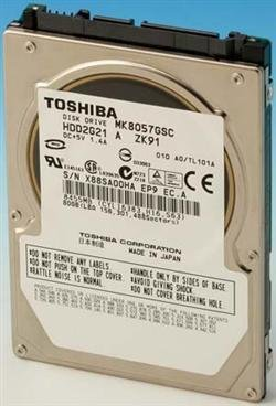 Toshiba 80GB 80 gb 2.5 inch Sata Hard drive for Laptop/PS3/Mac - 1 Year Warranty