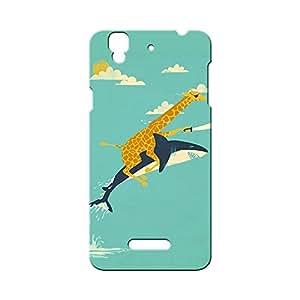 G-STAR Designer Printed Back case cover for Micromax Yu Yureka - G1577