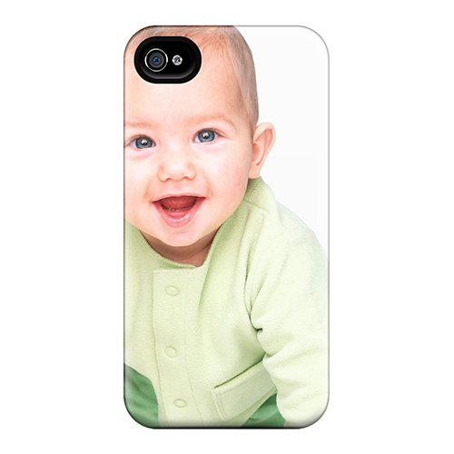 Snap-On Cute Kids Babies Hd 6 Case Cover Skin Compatible With Iphone 4/4S front-227541