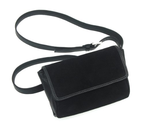Lucrin - Waist Pouch - Suede calf leather