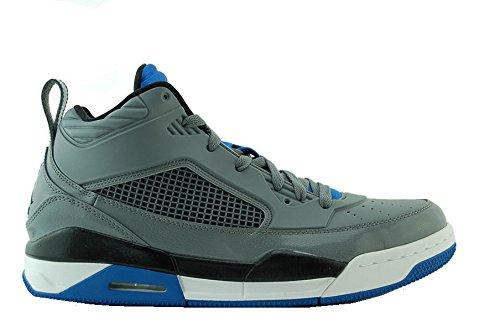 Nike Air Jordan volo 9,5da uomo Sneaker Pallacanestro 654262Scarpe da ginnastica, (cool grey black spirit blue white 007), 45 EU