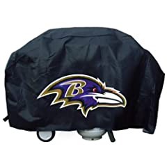 Buy Baltimore Ravens Official NFL Grill Cover by Rico Industries 338312 by Hall of Fame Memorabilia