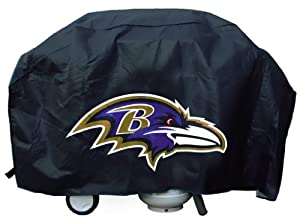 Baltimore Ravens NFL Grill Cover Deluxe by Hall of Fame Memorabilia