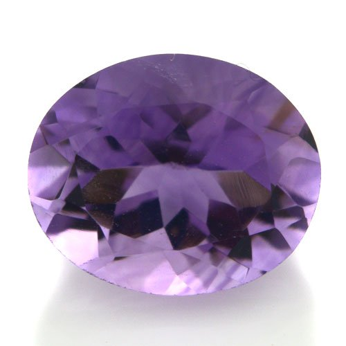Natural Africa Purple Amethyst Loose Gemstone Oval Cut 11*9mm 3.50cts Amazing