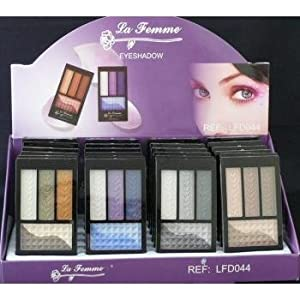 La Femme Eyeshadow Multiple Colors (Case of 24)