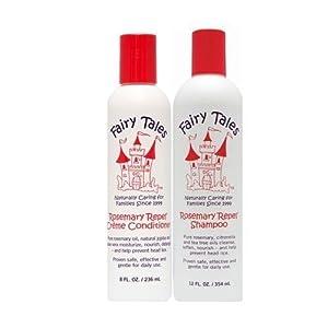 Fairy Tales Rosemary Repel Creme Shampoo, 12 fl.oz. + Conditioner, 8 fl.oz.