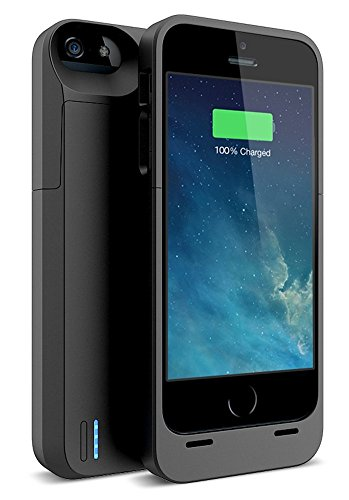 iPhone 5s Battery case , iPhone 5 Battery case , UNU DX-5 iPhone 5/5S Charger Case [Black] (Gen 2) - MFI Certified 2300mAh Charger Protective iPhone 5/5S Charging Case / Power Juice Bank Battery Pack (Iphone Battery Case 5 compare prices)