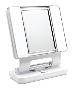 Amazon Com Ott Lite Natural Daylight Makeup Mirror White