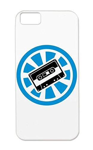 Cassette Electro Minimal Techno Festival Oldschool Mixtape Rock Step Headphone Dance Electronica Music Music Hip Hop Bass Mp3 Beat Drum Metal Minimal Circle Reggae Hardstyle Dj Electro Tapes Audio Dub Retro Navy Tpu For Iphone 5C Cover Case