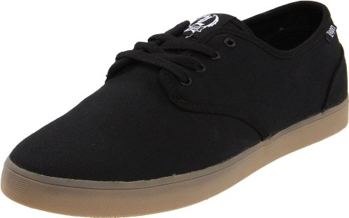 C1RCA Men's Lopez 13 Skate Shoe,Black/Gum,10.5 M US