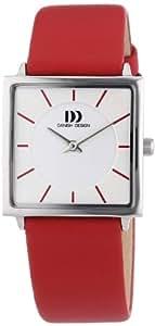 Danish Design Damen-Armbanduhr Analog Quarz Leder 3324518