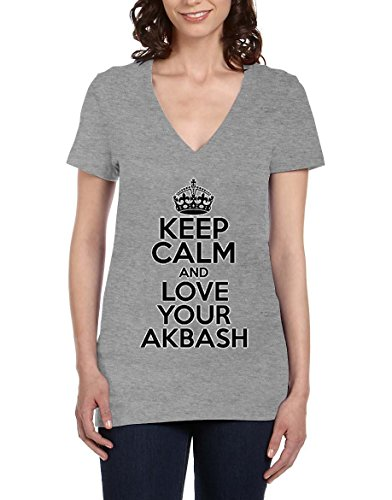 keep-calm-and-love-your-akbash-womens-v-neck-t-shirt-xx-large