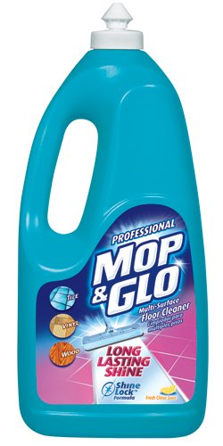 MOP & GLO 74297CT Triple Action Floor Cleaner, Fresh Citrus Scent, 64oz Bottles (Case of 6) (Mop And Glo Floor Shine compare prices)