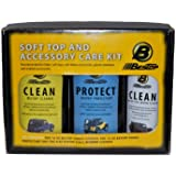 Bestop 11205-00 Jeep Soft Top Cleaner and Protectant Pack