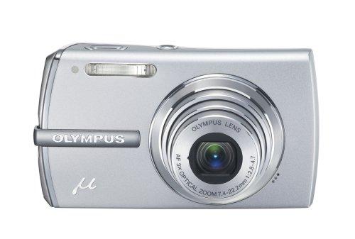 OLYMPUS デジタルカメラ μ1200 (ミュー)プレミアムシルバー (1200万画素 生活防水仕様)