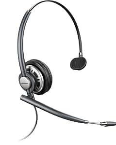 Plantronics EncorePro Premium Monaural Over the Head Headset w/Noise Canceling Microphone