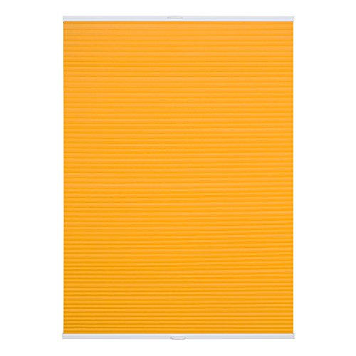 lichtblick-ptt04513011-plissee-klemmfix-top-thermo-ohne-bohren-verspannt-gelb-45-x-130-cm-b-x-l