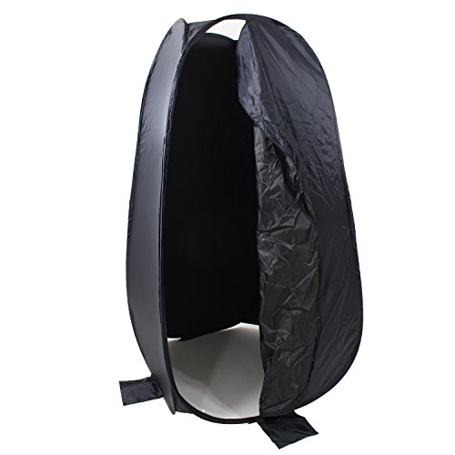 DynaSun DRESS UP 190cm XXL Cabina Spogliatoio Mobile Portatile Pop-Up Richiudibile Tenda da esterno per Studio Foto & Video