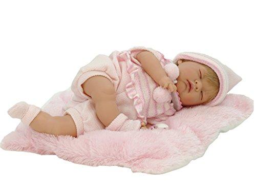 """Nines d'Onil 700 - """"Il mio bebè"""", Bambola morbida con occhi chiusi, 45 cm"""