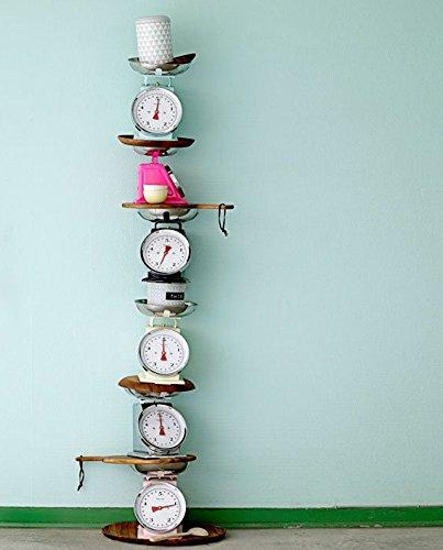 Balance/rose/22,3 x 16,5 x 25,5 cm, charge maximale 5 kg
