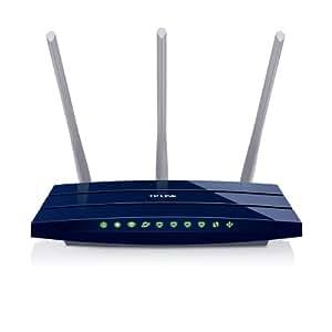 TP-Link TL-WR1043ND Ultimate WLAN Gigabit Router (für Anschluss an Kabel-/DSl-/Glasfasermodem, 300MBit/s, LAN, WAN, USB 2.0)