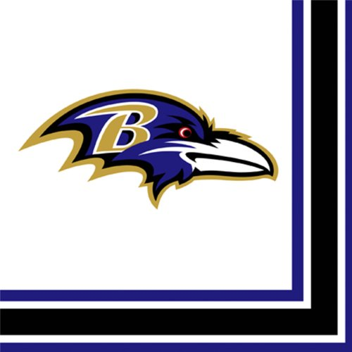 Baltimore Ravens Luncheon Napkins