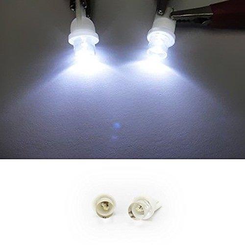 LEDIN 2 LED Lamp WHITE T10 168 194 2825 W5W wedge bulb Inner Tail Light Allure Coupe