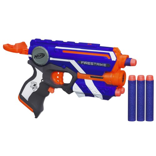 Nerf N-Strike Double Your Darts Elite Firestrike Blaster Set - 1