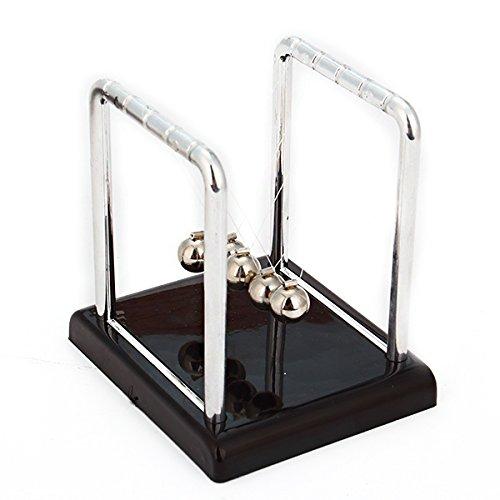 Lightweight Newton'S Cradle Steel Balance Balls Desk Top Pendulum front-258675